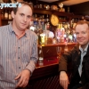 Emmet Lynch pictured with Neil Delamere at the after show party in Hugh Lynch's, Tullamore. Picture: Ger Rogers/HR Photo.