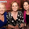 Catherine Mulkearn, Yvonne McManus and Alison Burke were all smiles at the Neil Delamere after show party in Hugh Lynch's, Tullamore. Picture: Ger Rogers/HR Photo.
