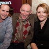 Emmet Lynch with Jim and Miriam Smyth at the Neil Delamere after show party in Hugh Lynch's, Tullamore. Picture: Ger Rogers/HR Photo.